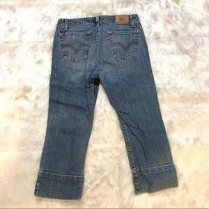 Levi's 515 Capri cropped Jeans Sz 8 M